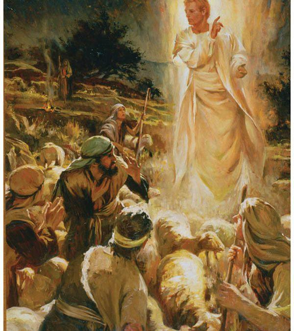 O Coro Celestial: Testemunha do Nascimento de Cristo