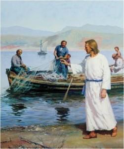 Jesus Cristo e os Pescadores