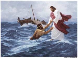 Jesus-Anda-Aguas-Mormon